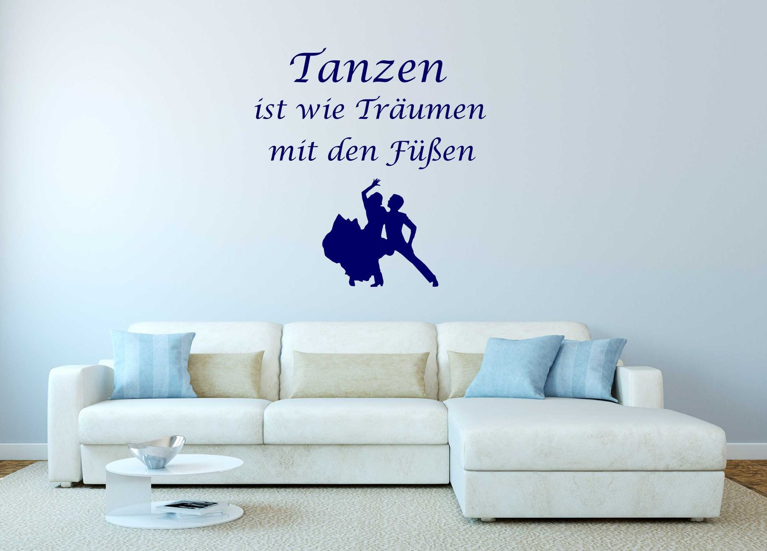 Fabulous Wandtattoo Bilder Collection Of - Tanzen Ist Wie Träumen.